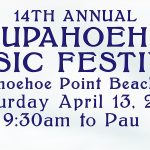 14th Annual Laupāhoehoe Music Festival Set for April 13