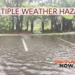 Multiple Weather Hazards Expected Over the Weekend