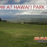 First-Time Snow Falls in Hawai'i State Park