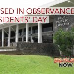 Libraries to Observe Presidents' Day Holiday