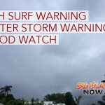 Surf Warning E Shores; Winter Storm Warning for Summits; Flood Watch for State