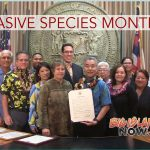 Gov. Ige Proclaims February as Invasive Species Month
