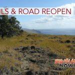 HVNP Reopens 2 Trails & Mauna Loa Road