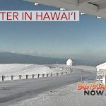 More Snow in Store For Big Island Summits