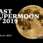 What's Up? Last Supermoon of 2019 Tonight