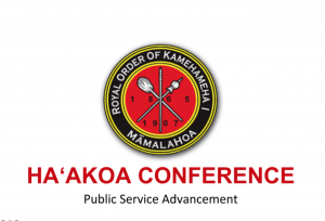 Ha'akoa Conference March 15, 2019.