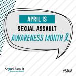 April is 'Sexual Assault Awareness Month'