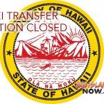 Ke'ei Transfer Station Closes