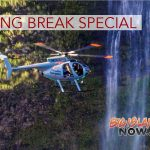 Paradise Helicopters Offers Spring Break Special