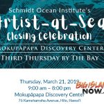 Public Invited for Celebration of 'Artists at Sea'