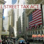 Legislation Introduced to Tax Wall Street, Address Economic Inequality