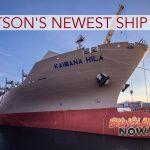 Rep. Gabbard Christens Matson's Newest Ship