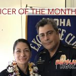 Omaya Recognized as Officer of the Month