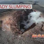 Rockfalls Continue to Change Shape of Pu'u 'Ō'ō