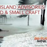 Small Craft & Wind Advisory in Effect for Big Island