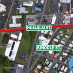 Roadway Resurfacing Work on Hualālai Street