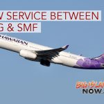 Hawaiian Airlines Launches Service Between OGG & SMF