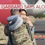 Rep. Gabbard Bids Farewell to Fellow Hawai'i Army National Guard Soldiers