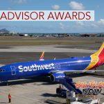 Southwest Airlines Earns TripAdvisor Awards