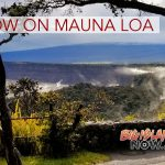 Mauna Loa Gets Some Snow