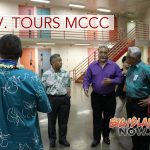 Governor Surveys MCCC After Riot