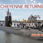 USS Cheyenne Returns From Deployment