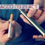 Legislation Introduced to Raise Smoking, Vaping Age to 21