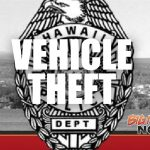 Stolen Vehicle Being Sought by HPD
