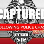 Police Chase Ends in Capture of Fugitive
