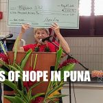 Puna Coalition Holds Meeting Full of Hope
