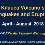 VIDEO: Kīlauea's Earthquakes & Eruptions, April–August, 2018