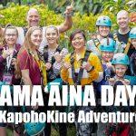 VIDEO, PHOTOS: Food Donations & Fun at KapohoKine Adventures' Kama'ãina Days
