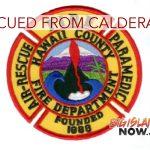 HFD Rescues Man From Volcano Caldera