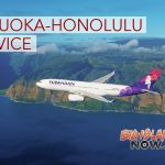 Hawaiian Airlines to Seek New Fukuoka-Honolulu Service