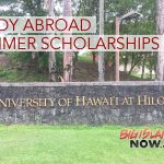10 UH Hilo Students Awarded Study Abroad Summer Scholarship