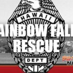 Woman Rescued After Accidentally Going Over Rainbow Falls
