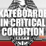 Skateboarder in Critical Condition After Being Struck by Vehicle