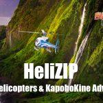 Hawaii Helicopters & KapohoKine Adventures Introduce HeliZIP Package