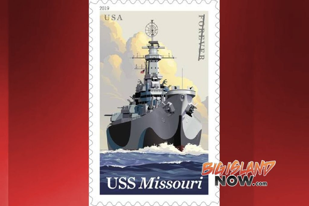 'SS Missouri' Stamp To Be Unveiled At Pearl Harbor, June