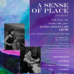 A Sense of Place, Duo Cellist and Piano Recital