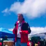 UH President Visits Mauna Kea, Protectors