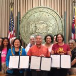 Zonta Club of Hilo's Strangulation Bill Signed Into Law