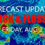 UPDATES: Erick Fades; Flossie Moves Into Central Pacific
