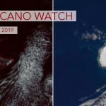 Sub-Antarctic Lava Lake Spied From Space