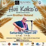 Hui Kako'o Benefit Concert to Feature Brother Noland