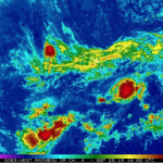 UPDATE: Tropical Storm Kiko Slowly Treks Westward