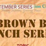 September Brown Bag Lunch Series Talk