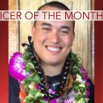 Officer of the Month Awarded to Travis Wong