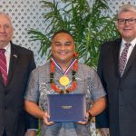 HPD Officer Honored at Annual Awards Banquet on O'ahu
