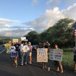 TMT Supporters Rally in Kona